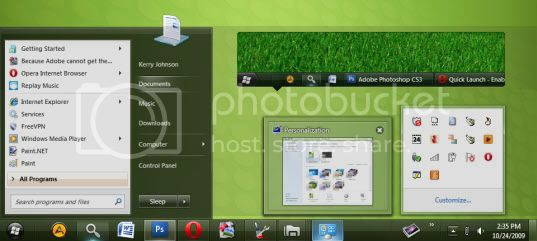 Clearscreen Windows 7 Theme