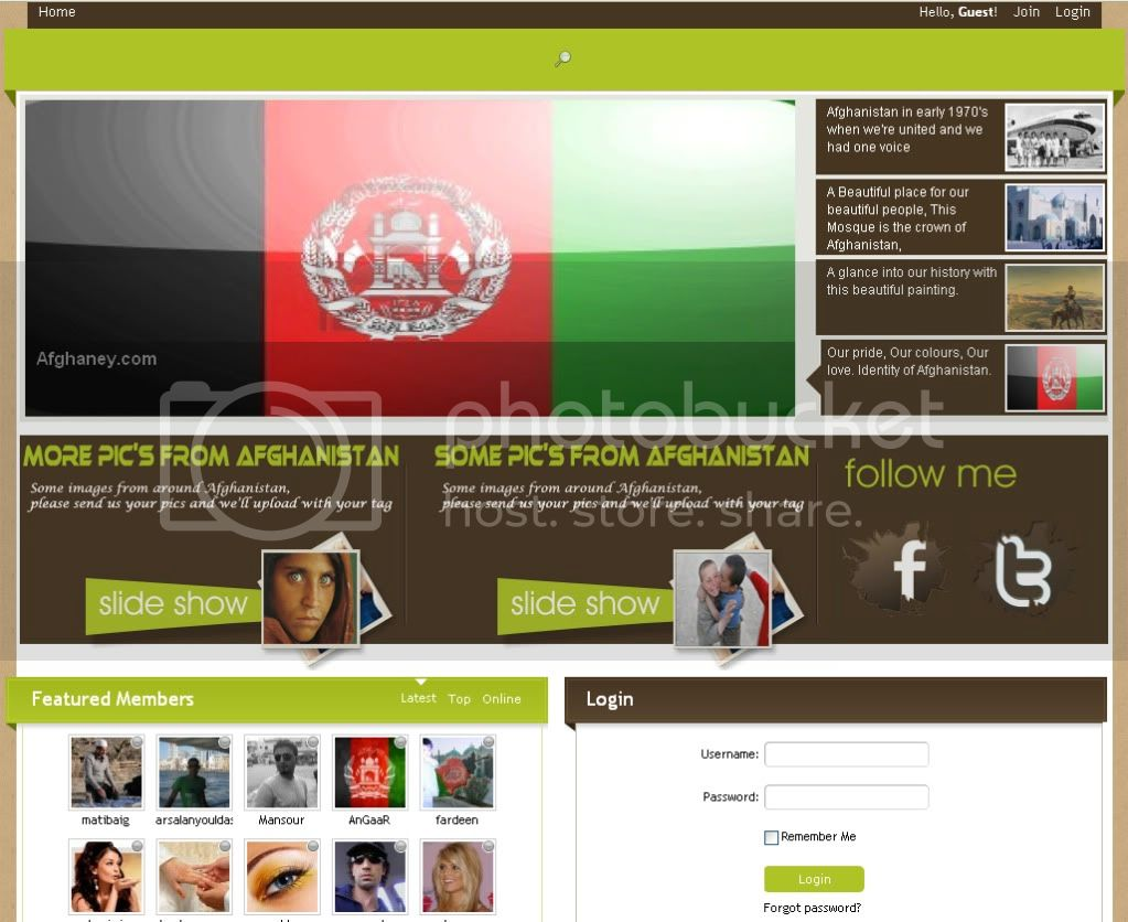 Afghan Social Network